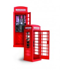 20320 - Artesania Latina - 20320 - 1/10 LONDON RED PHONE CABIN - Kit