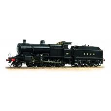 31-014 - Class 7F 2-8-0 89 S&DJR Plain Black - PD