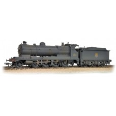 Branch-Line 31-128 - (D)3000 Class (ROD) 2-8-0 3036 BR Black Early Emblem-Weathered