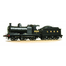 31-318A - Robinson Class J11 (GCR 9J) 5954 LNER Plain Black - Regular -217.79
