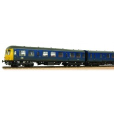 Branch-Line 31-325A - Class 105 2 Car DMU BR Blue Yellow Ends Weathered