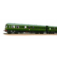 Branch-Line 31-326B - Class 105 2 Car DMU BR Green Speed Whiskers with Passenger Figures