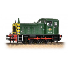 Branch-Line 31-361B - Class 03 D2028 BR Green with Wasp Stripes