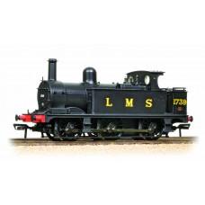 31-433 - Midland Class 1F 1739 LMS Black Open Cab - Regular -144.79