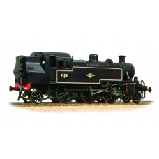 Branch-Line 31-441DC - Ivatt Class 2MT 2-6-2 Tank 41291 BR Lined Black Late Crest (DCC On Board)