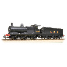 31-627B - Class 3F 3520 LMS Black Deeley Tender - Regular -173.79