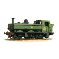 31-638 - Class 64xx 6419 0-6-0 Pannier Tank BR Lined Green Late Crest - Weathered - Regular -159.79