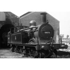 31-742 - Midland Railway 1532 Class (1P) 0-4-4 58072 BR Lined Black Early Emblem - Regular -0
