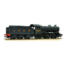 31-866 - J39 Class 1803 LNER Black 4200 Gallon Plain Group Standard Tender - Regular -0