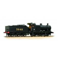 31-883 - Midland Class 4F 3848 Midland Black Crest on Cab Johnson Deeley Tender - Regular -173.79
