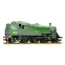 31-980 - BR Standard Class 3MT Tank 82020 BR Green L/Crest Weathered - Regular -202.79