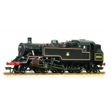 Branch-Line 31-981 - BR Standard Class 3MT Tank 82021 BR Lined Black Early Emblem