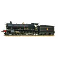 Branch-Line 32-002A - Hall Class 4971 Stanway Hall BR Black Early Emblem Weathered