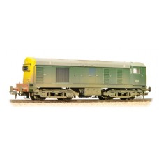 Branch-Line 32-034A - Class 20 20141 BR Green Full Yellow Ends Weathered
