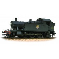 32-137A - Class 4575 Prairie Tank 4592 BR Plain Black E/Emblem - Weathered - Regular -173.79