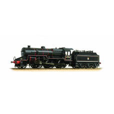 32-176 - Crab 42765 BR Lined Black Early Emblem Welded Tender with Coal Rails - Regular -210.79