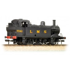 Branch-Line 32-227B - Fowler Class 3F 0-6-0 (Jinty) 7341 LMS Black