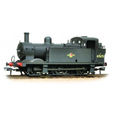 Branch-Line 32-235 - Fowler Class 3F 0-6-0 (Jinty) 47673 BR Black Late Crest Weathered