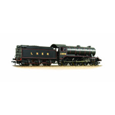 32-279A - K3 Class 1304 LNER Lined Black with Group Standard Tender - Regular -202.79