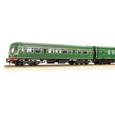 Branch-Line 32-285 - Class 101 2 Car DMU BR Green with Speed Whiskers
