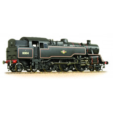 Branch-Line 32-360A - BR Standard Class 4MT Tank 80104 BR Lined Black Late Crest