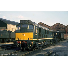 32-441 - Class 24/1 D5149 BR Green Small Yellow Panel - Regular -0