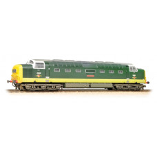 32-533 - Class 55 D9001 'St. Paddy' BR Two-Tone Green Full Yellow Ends Weathered - Regular -253.79