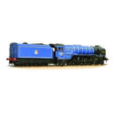 32-561 - Class A1 60122 'Curlew' BR Express Blue Early Emblem Riveted Tender - Regular -275.79
