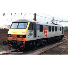 32-611 - Class 90 90037 BR Railfreight Distribution - Regular -260.79