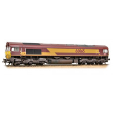 32-737 - Class 66 66065 Ex-EWS (DBS Branding) - Weathered - Regular -260.79