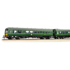 Branch-Line 32-906 - Class 108 2 Car DMU BR Green Half Yellow Ends