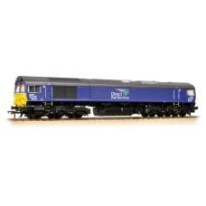 32-982 - Class 66 66434 DRS Plain Blue Compass - Regular -246.79