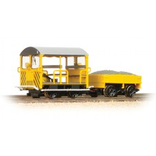 Branch-Line 32-993 - Wickham Type 27 Trolley Car BR Engineers Yellow Wasp Stripes