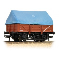 Branch-Line 33-086 - 5 Plank China Clay Wagon with Tent Hood BR Bauxite