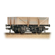 33-087 - 5 Plank China Clay Wagon without Hood BR Bauxite - Heavily Weathered - Regular -26.79