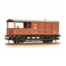 33-307A - 20 Ton Toad Brake Van BR Bauxite - Regular -27.79