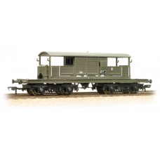 Branch-Line 33-826B - 25 Ton Queen Mary Brake Van BR Departmental Olive Green