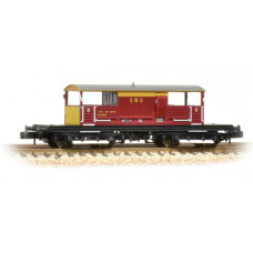 33-832 - 25 Ton Queen Mary Brake Van EWS - Regular -37.79