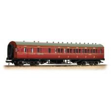 Branch-Line 34-227 - 57ft 3rd Corridor Brake End LMS Crimson