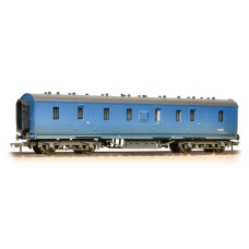 34-328A - 50ft. Ex-LMS PIII Parcels Van BR Blue Weathered - Regular -55.79