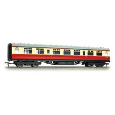 34-386 - Thompson 3rd Class Corridor BR Crimson & Cream - Regular -79.79