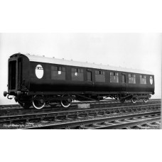 34-410 - Thompson Composite Corridor LNER Teak - Regular -79.79