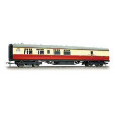 34-461 - Thompson 3rd Class Brake Corridor BR Crimson & Cream - Regular -79.79