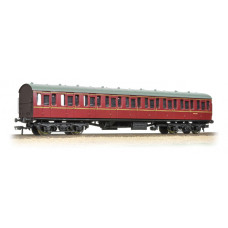 Branch-Line 34-604C - BR Mk1 Suburban Open BR Lined Maroon with Passenger Figures