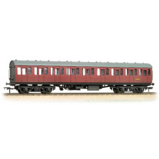 34-609 - (D) BR Mk1 Suburban Second Crimson Weathered - Regular -49.98