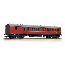 34-630A - BR Mk1 Suburban Second Brake BR Lined Maroon - Regular -57.79