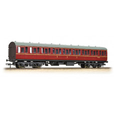 Branch-Line 34-700C - BR Mk1 Suburban Composite BR Lined Maroon with Passenger Figures
