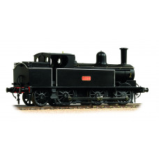 35-050 - LNWR Webb Coal Tank 1054 LNWR Plain Black - Regular -173.79