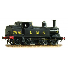 35-051 - LNWR Webb Coal Tank 7841 LMS Black - Regular -173.79