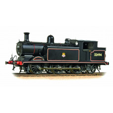 35-079 - Class E4 0-6-2 32494 BR Lined Black Early Emblem - Regular -188.79